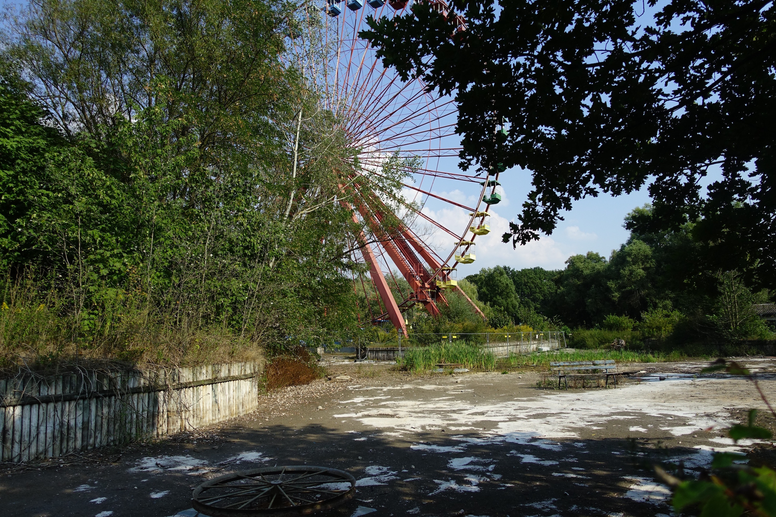 The abandoned ferris wheel